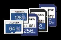Industrial memory cards